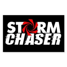 Storm Chaser Rectangle Sticker 10 pk)