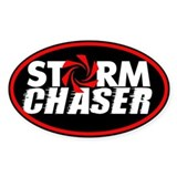 Storm Chaser Oval Decal