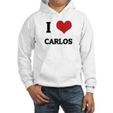 I Love Carlos Jumper Hoody