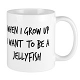 Grow up - Jellyfish Small Mug