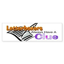 Clue Bumper Bumper Sticker
