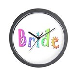 Bride (Bright) Wall Clock