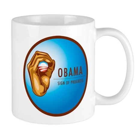 Sign of Progress Mug