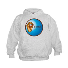 Sign of Progress Kids Hoodie
