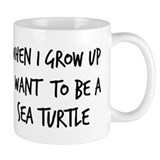 Grow up - Sea Turtle Mug