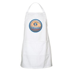 Obama Sign of Progress BBQ Apron