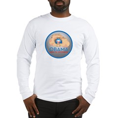 Obama Sign of Progress Long Sleeve T-Shirt