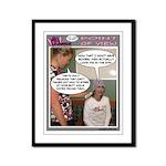 Framed BC WARRIOR Comic Strip