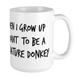 Grow up - Miniature Donkey Mug