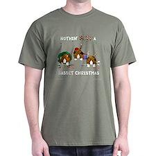 Nothin' Butt A Basset Xmas T-Shirt