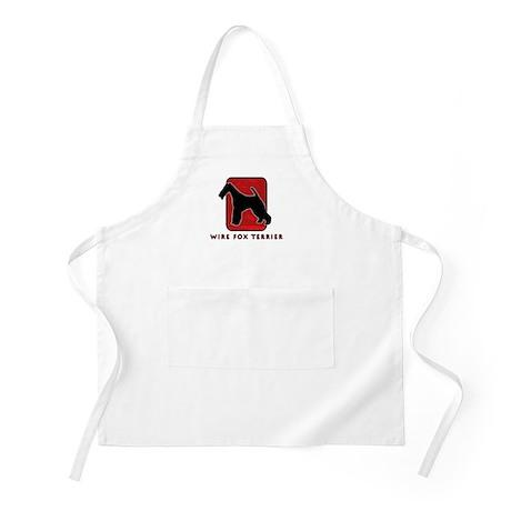 Wire Fox Terrier BBQ Apron