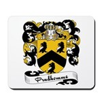Prudhomme Family Crest Mousepad