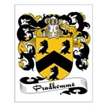 Prudhomme Family Crest Small Poster