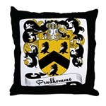Prudhomme Family Crest Throw Pillow