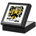 Prudhomme Family Crest Keepsake Box