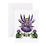 Amethyst Ballerina Greeting Cards (Pk of 10)