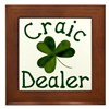 Craic Dealer Framed Tile