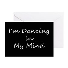 Dancing In My Mind bw s Greeting Cards (Pk of 10)