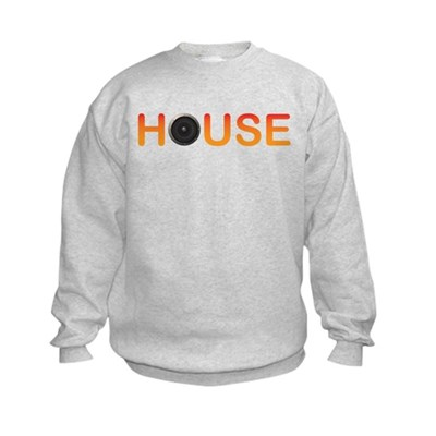 House Music Kids Sweatshirt