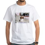 Buster White T-Shirt