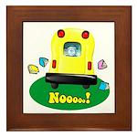 Noooo! Framed Tile