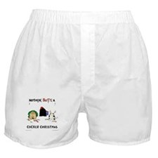 Nothin' Butt A Cocker Xmas Boxer Shorts
