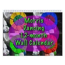 Morris Dancer's 12-photo Wall Calendar
