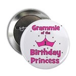 "Grammie 1st Birthday Princess 2.25"" Button"