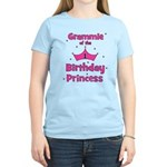 Grammie 1st Birthday Princess Women's Light T-Shir