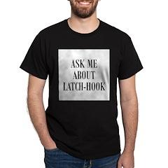 Yarn - Ask Me About Latch-Hoo Dark T-Shirt