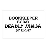 Bookkeeper Deadly Ninja by Night Postcards (Packag