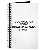 Bookkeeper Deadly Ninja by Night Journal