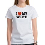 I Love My Wife Women's T-Shirt