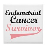 Endometrial Survivor Tile Coaster