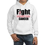Fight Endometrial Cancer Jumper Hoody
