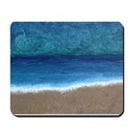 Beach Painting Mousepad
