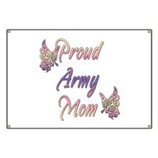 Proud Army Mom Banner