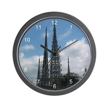 Watts Tower Wall Clock