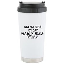 Manager Deadly Ninja by Night Ceramic Travel Mug