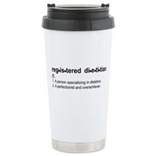 Registered Dietitian Ceramic Travel Mug