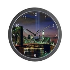 Tribute In Light Wall Clock
