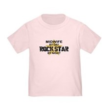 Midwife Rock Star by Night T