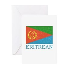 ERITREAN FLAG Greeting Card