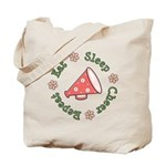 Eat Sleep Cheer Tote Bag