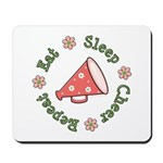 Eat Sleep Cheer Mousepad
