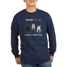 Nothin' Butt A Frenchie Xmas T