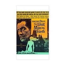 The Last Man On Earth Rectangle Decal