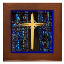The Cross Framed Tile