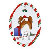Papillon Oval Ornament