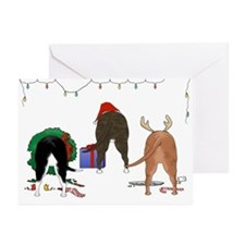 Staffie Christmas Greeting Cards (Pk of 10)